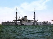 Germany Began Building a Large Modern Navy - 1898