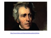 Andrew Jackson, our 7th president.