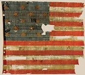 Flag used in Fort McHenry (War of 1812)