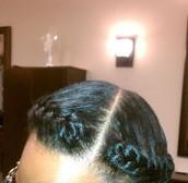 """B""  Natural Hair Care series"