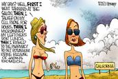Satirical cartoon #2