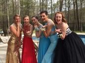 Sassy sophomore ladies!