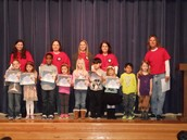 Kindergarten Star Students for First Semester