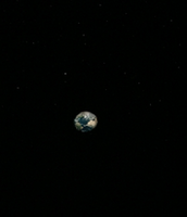 Earth from the ride