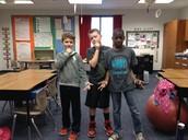 Josiah,Sam ,Brodie