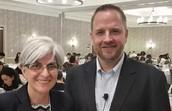 Dr. Monica Lara and John Seidlitz