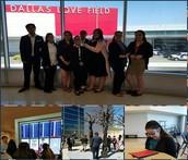 NAF Academy Students Visit Love Field, Build Dress for Success Closet