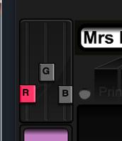 """use the """"r, g, & b"""""""