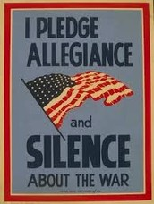 You can't silence Voluble americans!