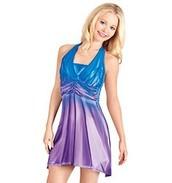 Blue And Purple Lyrical Dress!