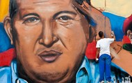 Painting of Hugo Chavez