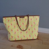 Flamingo Tote | 52 (SOLD TO BECCA)