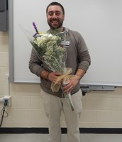 Lumberton Campus Teacher Assistant of the Year, Mr. Anthony Charry