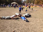 Push Ups with Soldiers