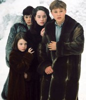Peter, Edmund, Lucy and Susan