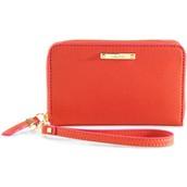Chelsea Tech Wallet in Poppy SOLD