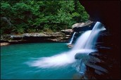 This is a Arkansas water fall!