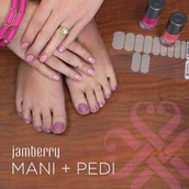 1. create your first party on jamberry dashboard