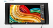 This is the HP Envy 27 Touch Screen