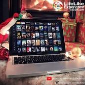Leve a LifeLike Experience para onde você desejar.
