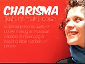 I am charismatic.