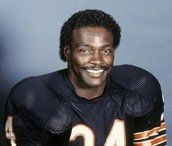 Walter Payton Chicago Bear's Team Picture