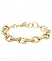 Christina Link Bracelet, gold (current)