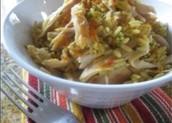 El arroz mezclar: tres mil ciento setenta y tres colónes.