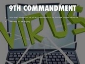 Computer Commandment #9