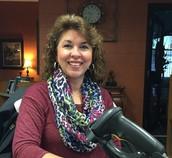 Tina Olivarez, Raider Librarian
