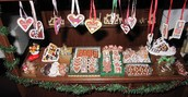 German Gingerbread crafts