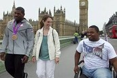 Dartanyon and Leroy in London