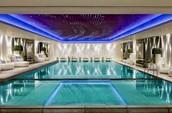 The Fun indoor swimming pool.