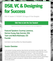 Get ready for the launch of VC Session 1: Tuesday, 8/18 @ 9am ICT/Bangkok