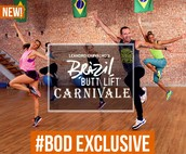 NEW WORKOUTS - CARNIVALE!