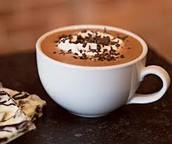 un chaude la chocolat