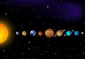 The planets of solar sistem are: Mercury, Venus, Earth, Mars, Jupiter, Saturn, Uranus , Neptune and Pluto