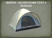 Meran Silver Dome Tent