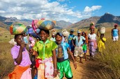People in Madagascar