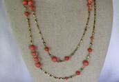 Adina Long Layering Necklace  ((SOLD))