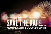 Save the date for HOOPLA 2016!