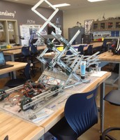 PLTW Engineering Classroom