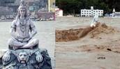 Shiva statue in Uttarakhand