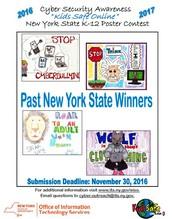 NYS K-12 Kids Safe Online Poster Contest
