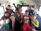 Having Fun on the bus
