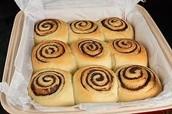 Cinnamon bun 25% off originally $2.99 now $2.24