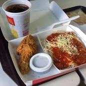 McDonalds spaghetti