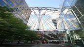 Das Sony Center am Potsdamer Platz