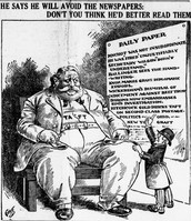 Taft political cartoon