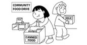 ABS Food Drive/Williston Food Shelf